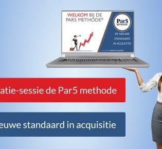 De nieuwe standaard in acquisitie: de Par5 methode